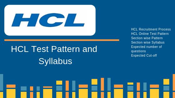 HCL Aptitude Test - Pattern and Syllabus | FACE Prep -