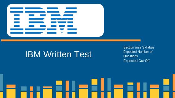 IBM Online Aptitude Test