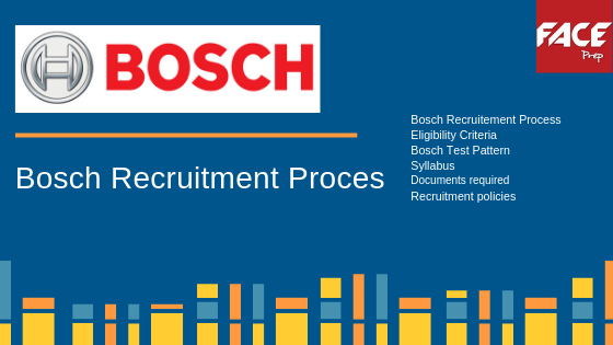 Robert Bosch Recruitment Process