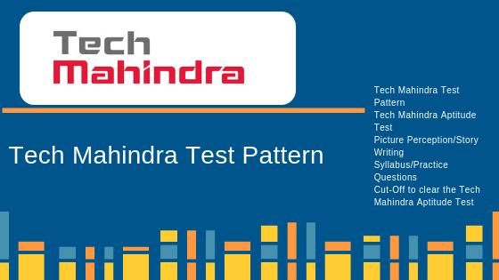 Tech Mahindra Test Pattern