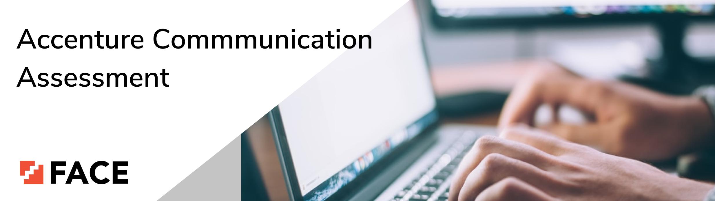 accenture communication assessment