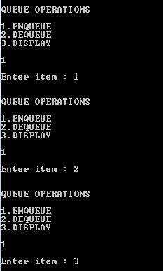 Circular queue using arrays and Linked list | Circular queue