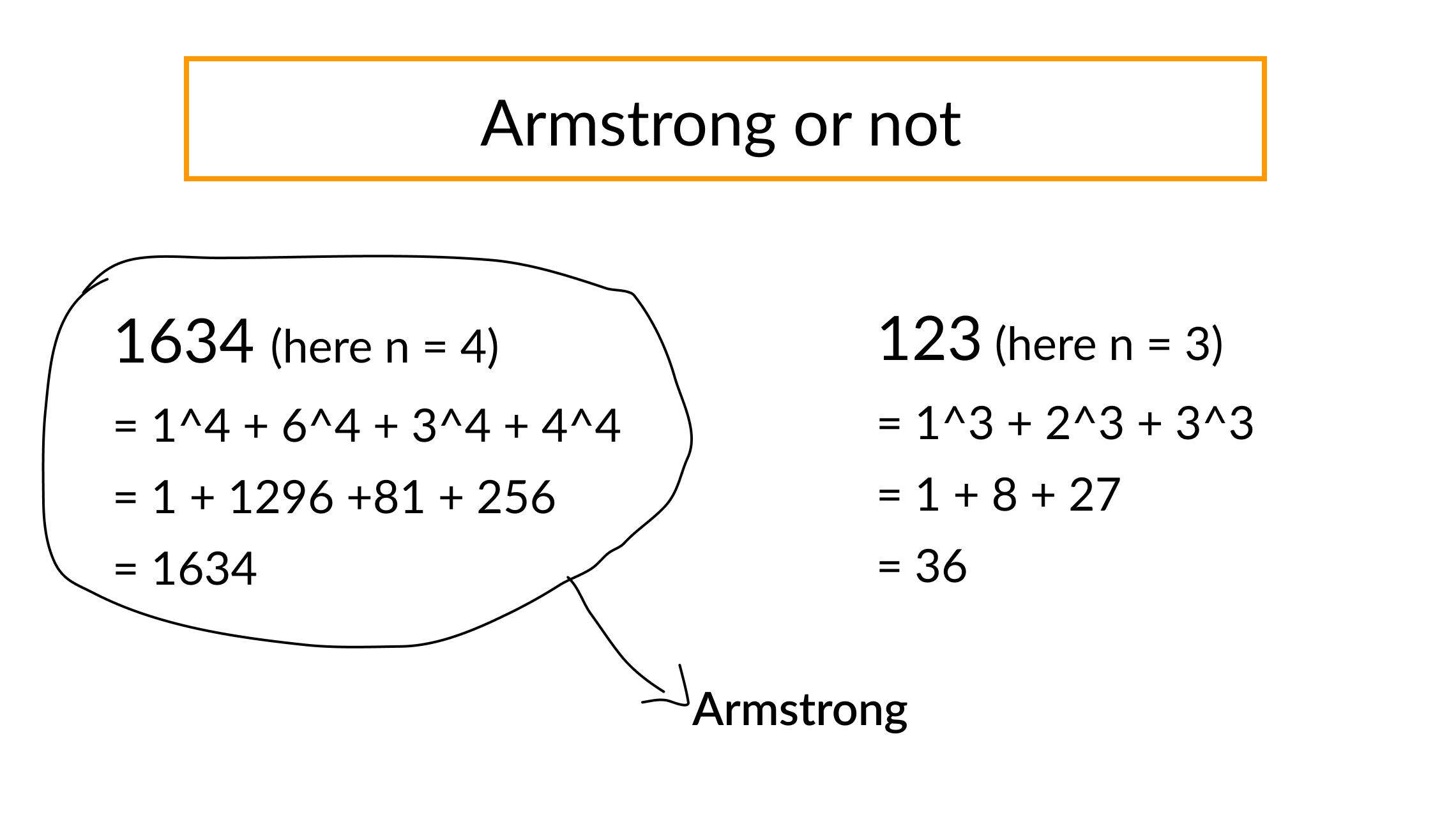 armstrong number between two intervals