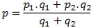 mixtures and alligations formulas
