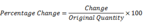 percentages formulas for percentage increase decrease