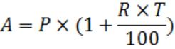 simple interest and compound interest formula