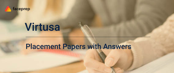 Virtusa Placement Papers | Virtusa Online Test Questions -