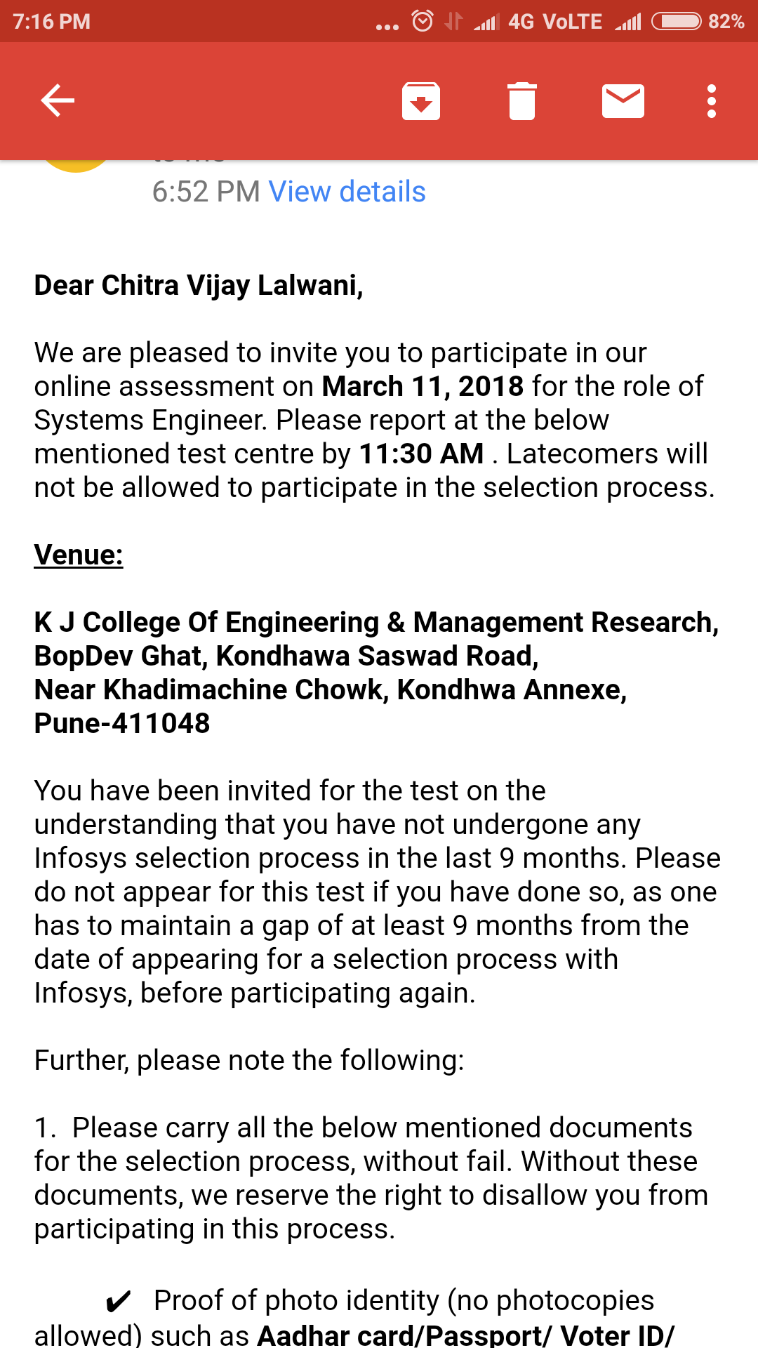 Infosys Off Campus Referral Drive 2018 Articles Face Prep