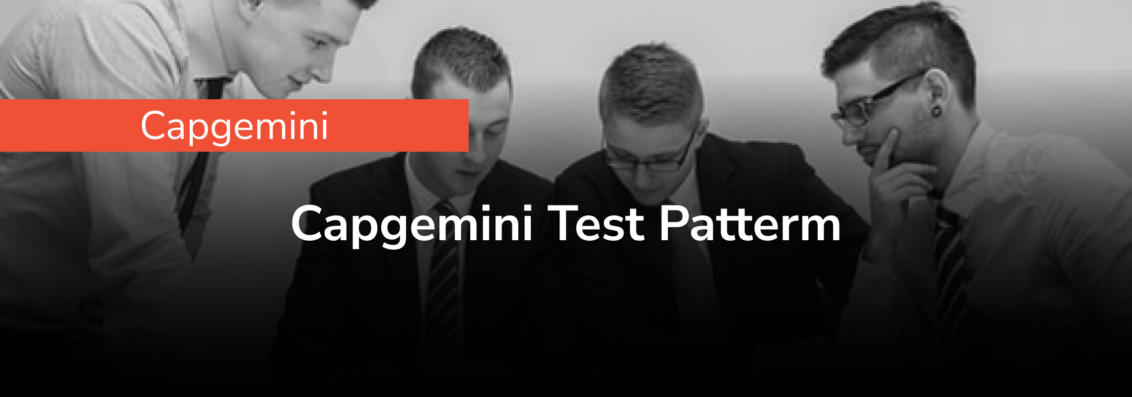 Capgemini Test Pattern 2021 for Online Test