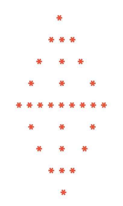 pattern programs in c, c++, java