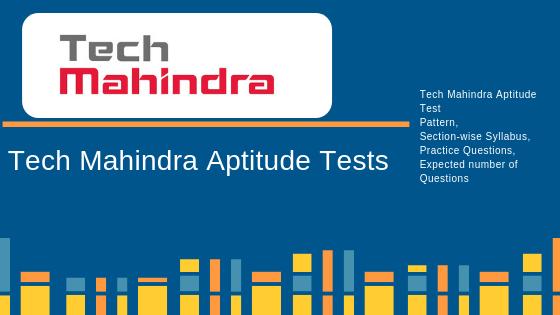 Tech Mahindra Aptitude Test