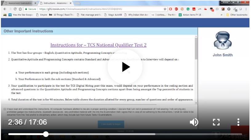 TCS Ninja test preparation- TCS Ninja National Qualifier test