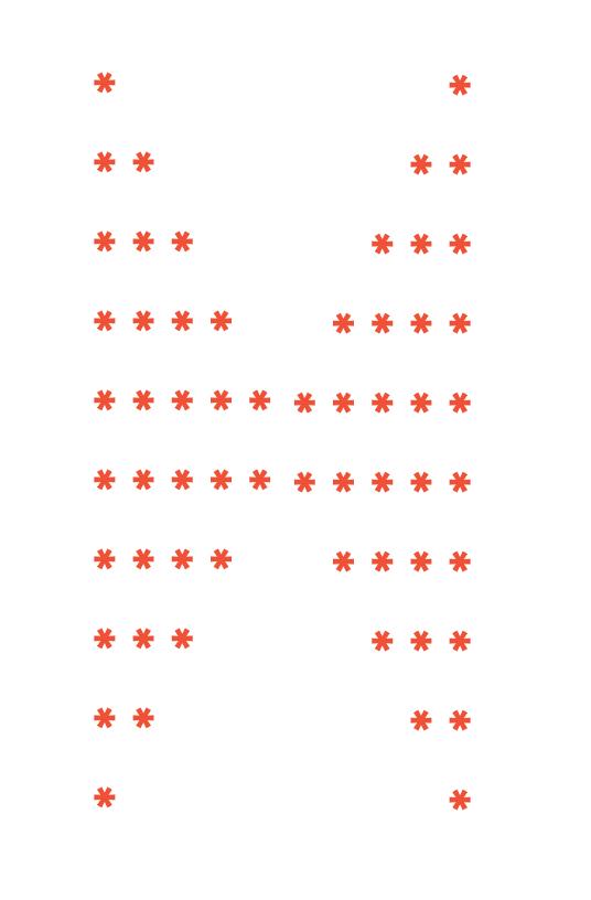 pattern programs in c