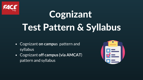 cognizant test pattern and syllabus